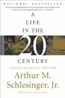 Cover image for A life in the twentieth century