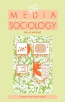 Cover image for Media sociology