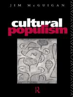 Cover image for Cultural populism.