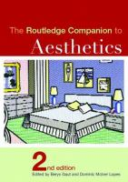 Cover image for The Routledge companion to aesthetics