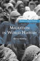 Cover image for Migration in world history