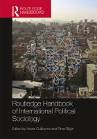 Cover image for Routledge handbook of international political sociology