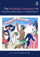 Cover image for The Routledge companion to the French Revolution in world history