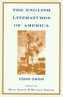 Cover image for The English literatures of America, 1500-1800