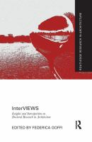 Cover image for Interviews insights and introspection on doctoral research in architecture