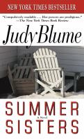 Cover image for Summer sisters : a novel.