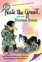 Cover image for Nate the Great and the stolen base
