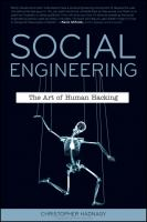 Cover image for Social engineering : the art of human hacking