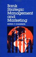 Cover image for Bank strategic management and marketing