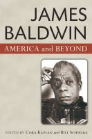 Cover image for James Baldwin America and beyond