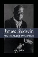 Cover image for James Baldwin and the Queer Imagination