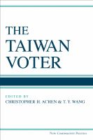Cover image for The Taiwan Voter