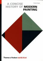Cover image for A Concise history of modern painting