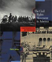 Cover image for The civil rights movement in America