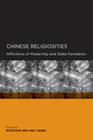 Cover image for Chinese religiosities afflictions of modernity and state formation