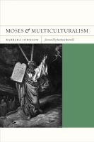 Cover image for Moses and multiculturalism