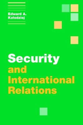 Cover image for Security and international relations.