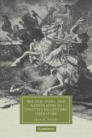 Cover image for Ireland, India, and nationalism in nineteenth-century literature
