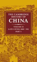 Cover image for The Cambridge history of China