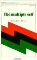 Cover image for The Multiple self