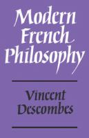 Cover image for Modern French philosophy