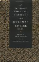 Cover image for An economic and social history of the Ottoman Empire