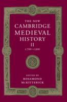Cover image for The New Cambridge medieval history