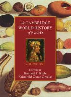 Cover image for The Cambridge world history of food