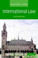 Cover image for International law.