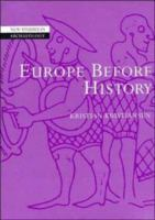 Cover image for Europe before history