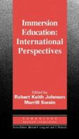 Cover image for Immersion education : international perspectives