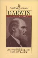 Cover image for The Cambridge companion to Darwin