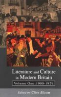 Cover image for Literature and culture in modern Britain