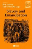 Cover image for Slavery and emancipation