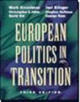 Cover image for European politics in transition