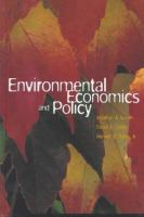Cover image for Environmental economics and policy