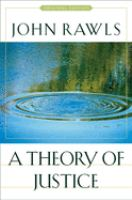 Cover image for A theory of justice