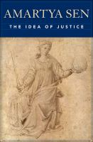 Cover image for The idea of justice