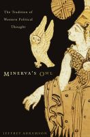 Cover image for Minerva's owl : the tradition of western political thought