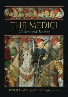 Cover image for The Medici : citizens and masters