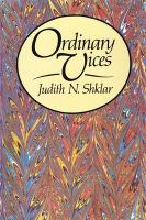 Cover image for Ordinary vices