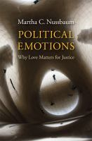 Cover image for Political emotions : why love matters for justice