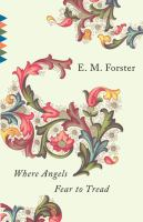 Cover image for Where angels fear to tread