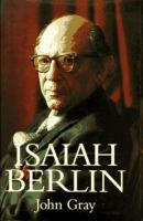 Cover image for Isaiah Berlin