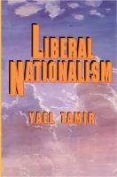Cover image for Liberal nationalism