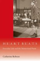 Cover image for Heart beats : everyday life and the memorized poem