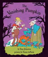 Cover image for The vanishing pumpkin
