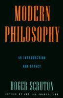Cover image for Modern philosophy : a survey