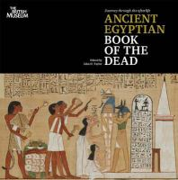 Cover image for Ancient Egyptian Book of the dead : journey through the afterlife
