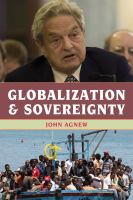 Cover image for Globalization and sovereignty